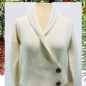 Isabella Bird Wrap Around Wool Sweater